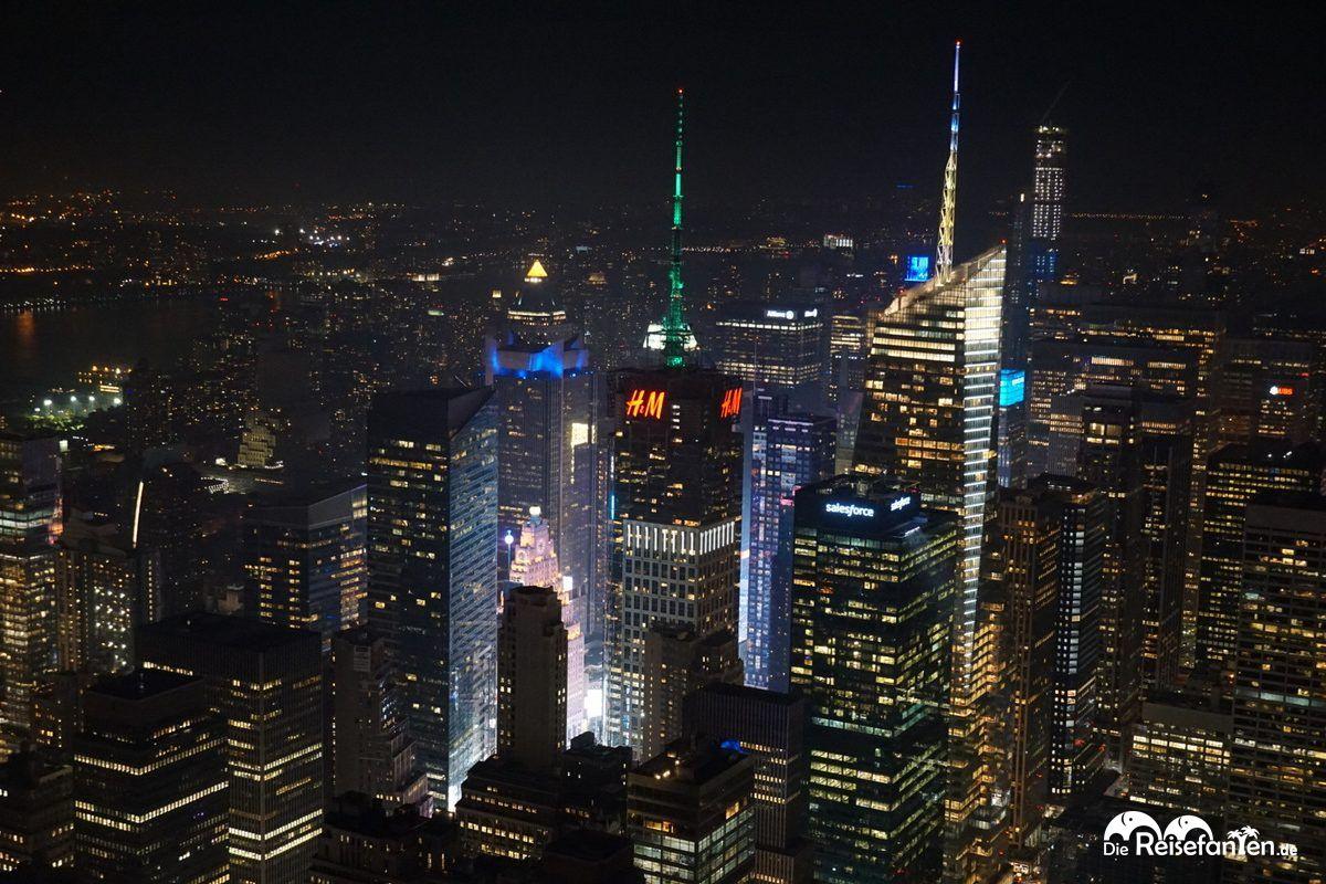 Die Umgebung des Empire State Buildings in New York