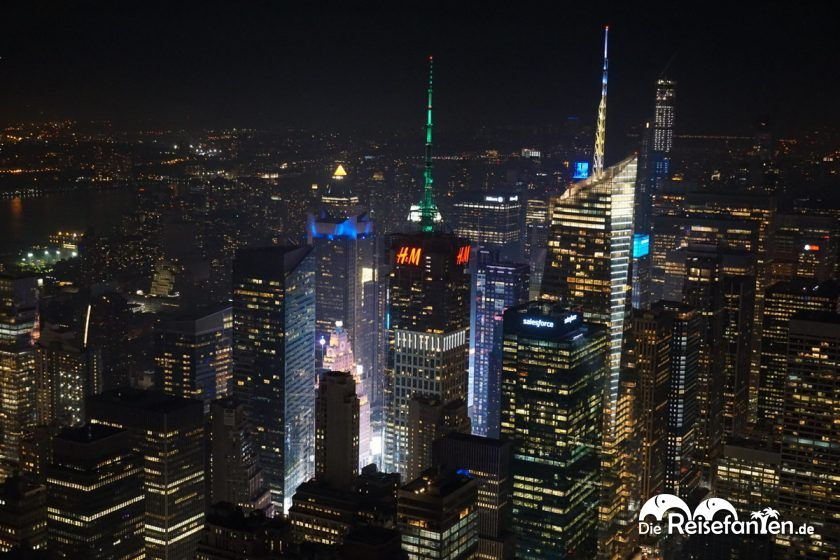 Die Umgebung des Empire State Buildings in New York