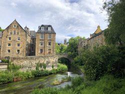 River Leith in Dean Village in Edinburgh