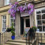 Süßes Cafe in Edinburgh