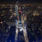 Straßenblick vom Empire State Building in New York
