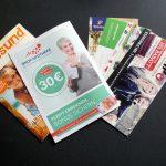 Unserer Bestellung lagen noch diverse Flyer und ein Magazin bei