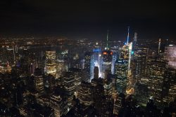 Ausblick vom Empire State Building in New York