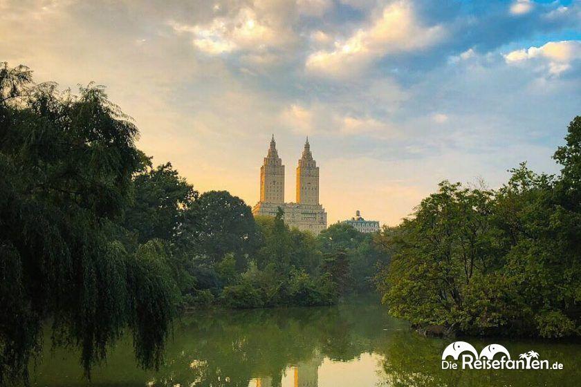 San Remo vom Central Park aus gesehen