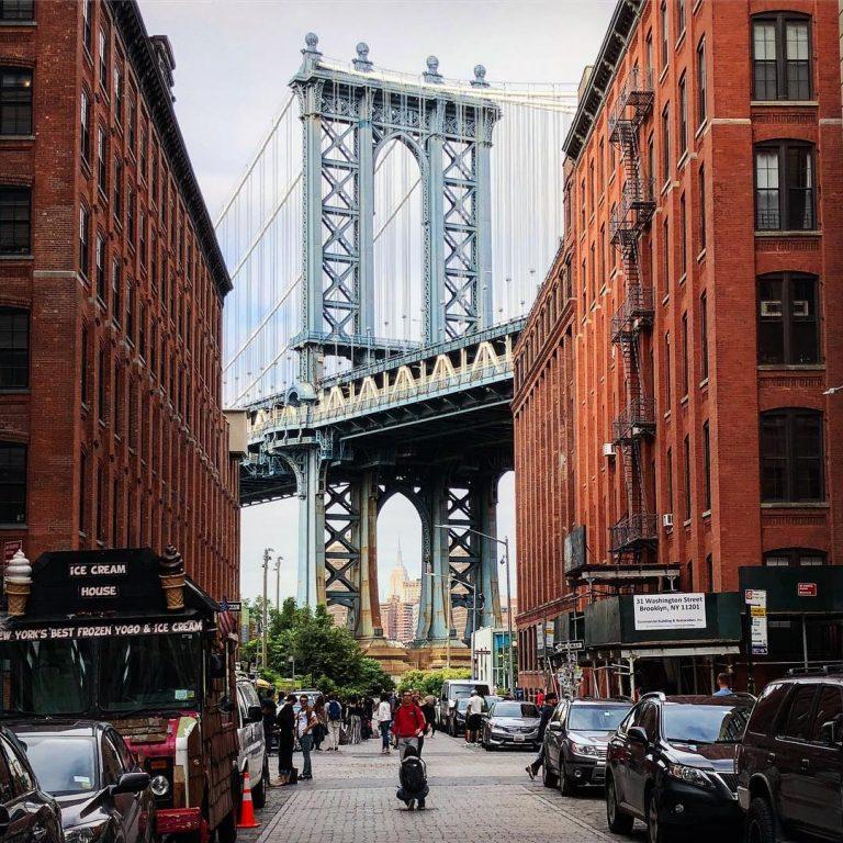 Tolle Sicht auf die Manhattan Bridge