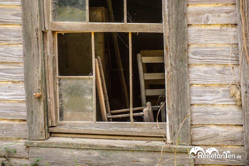 Alte Einrichtung in Rodney, Mississippi
