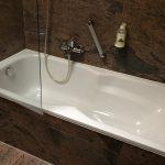 Badezimmer im Hotel Seelust in Eckernförde