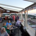 Dachterrasse im 10 South in Vickburg