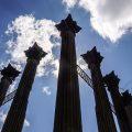 Die Säulen der Windsor Ruins am Mississippi