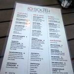 Die Speisekarte im 10 South in Vickburg Teil 2