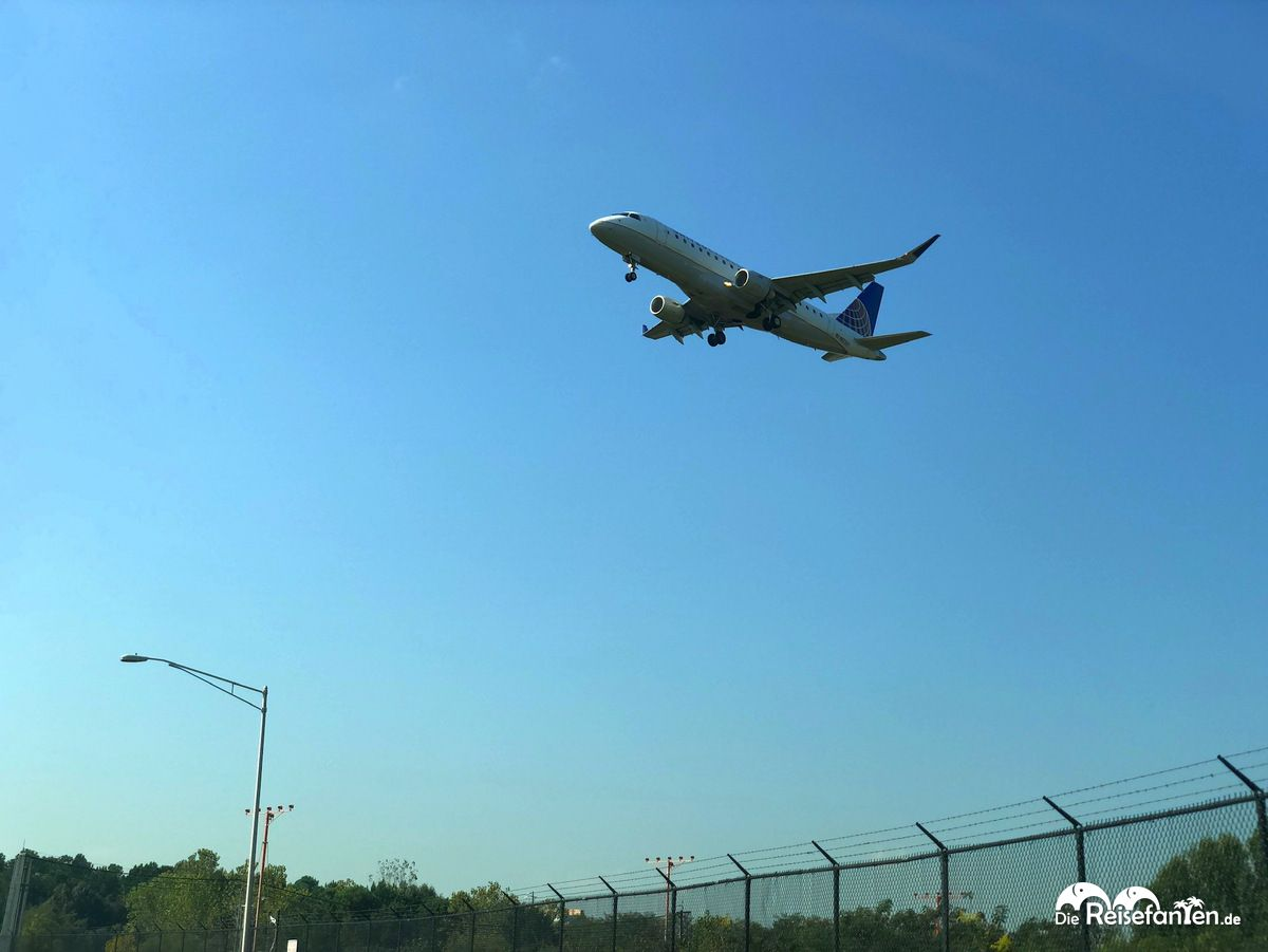Flug nach Atlanta