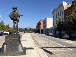 Hank Williams Statue in Montgomery