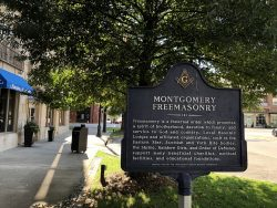 Infotafel in Montgomery