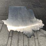Umriss des Bundesstaates Alabama
