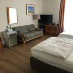 Zimmeransicht im Hotel Seelust in Eckernförde