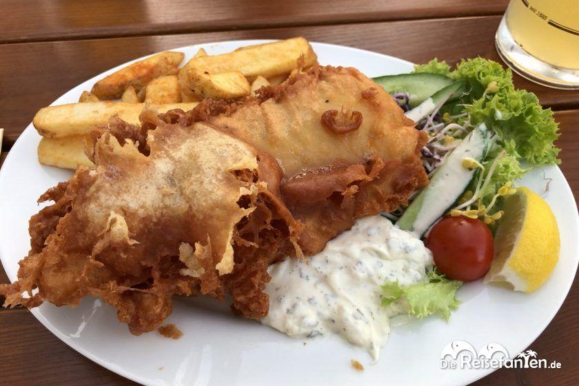 Backfisch im Restaurant Mehrfisch in Eckernförde