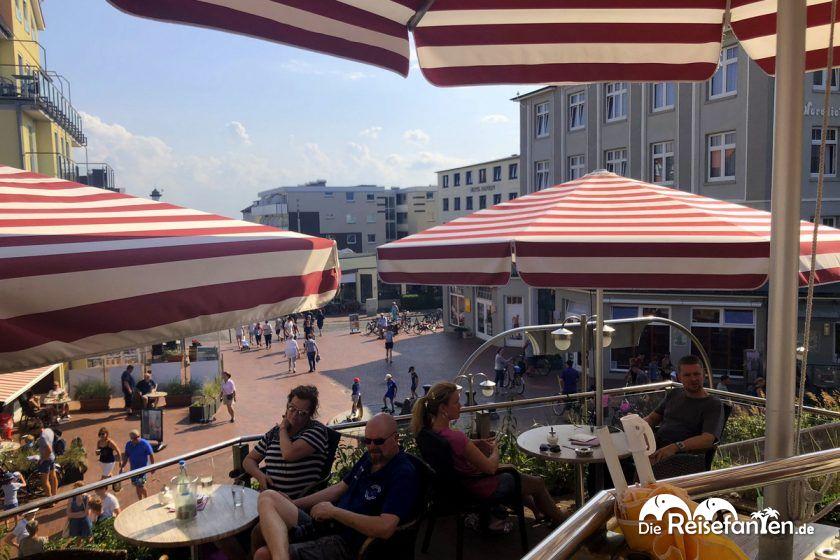 Bick vom Cafe Pudding auf Wangerooge