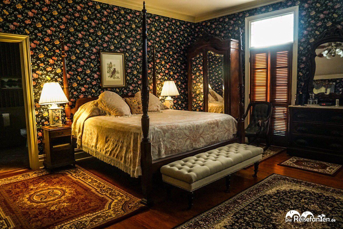 Doppelzimmer im Corners Mansion in Vicksburg, Mississippi