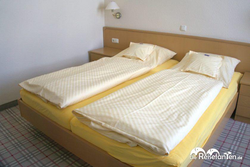 Doppelzimmer im Hotel Hanken auf Wangerooge