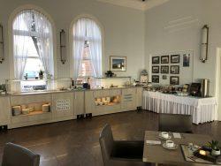 Frühstücksraum im Hotel Seelust in Eckernförde
