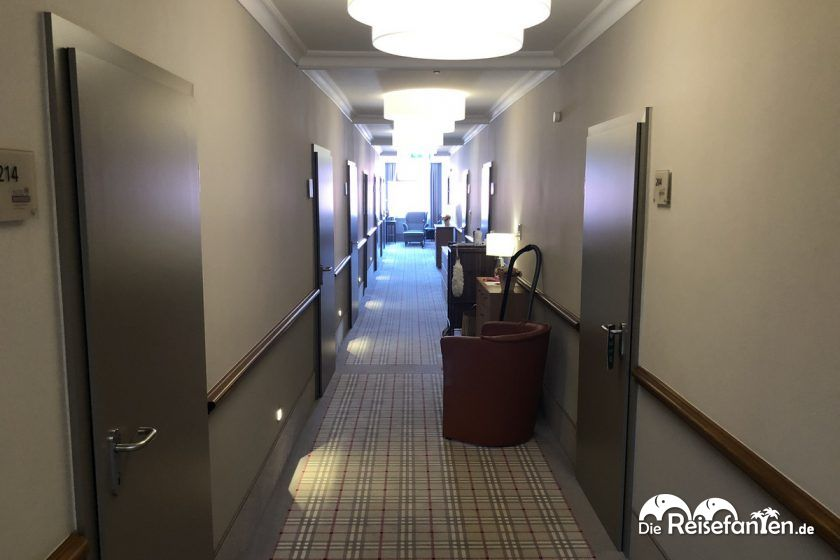 Zimmerflug im Hotel Hanken auf Wangerooge