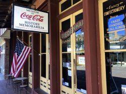 Geburtsort von Coca Cola in Vicksburg