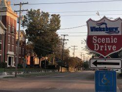 Scenic Drive in Vicksburg