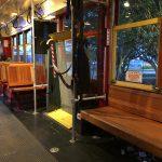 Streetcar Innenansicht in in New Orleans