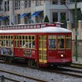 Streetcar der Canal Line in New Orleans