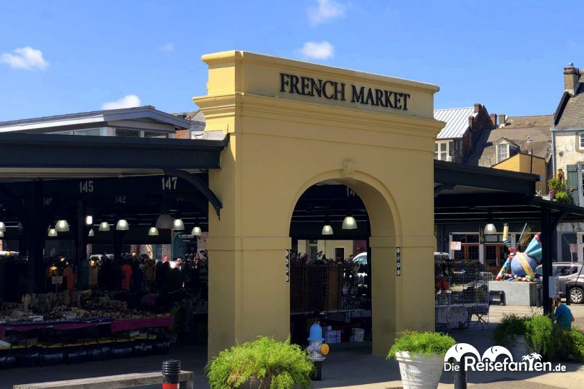 Aussenansicht French Market in New Orleans