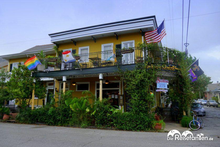 Aussenansicht vom Balcony Guest House in New Orleans