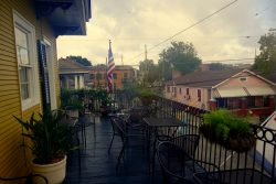 Balkon im Balcony Guest House in New Orleans