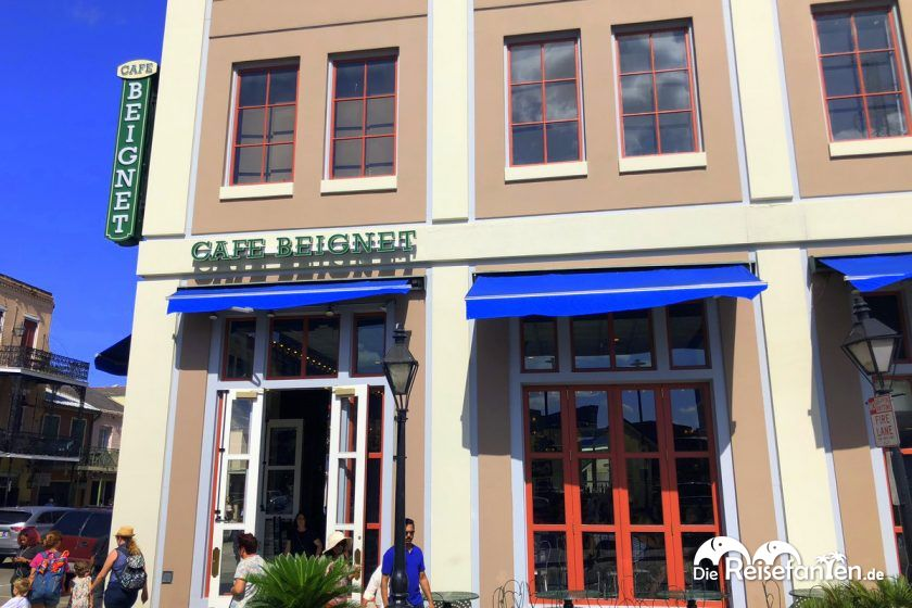 Das Café Beignet Royal in New Orleans