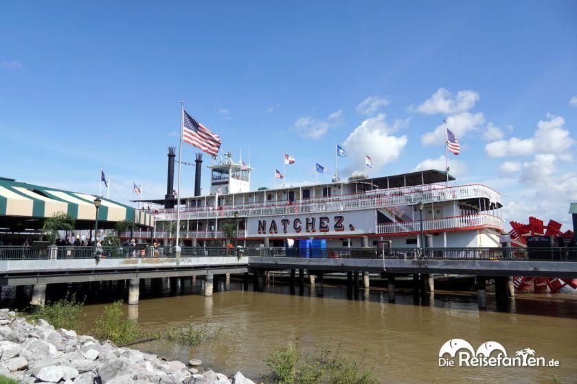 Das Steamboat Natchez in New Orleans