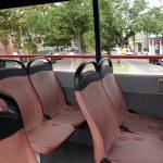 Der Bus von innen