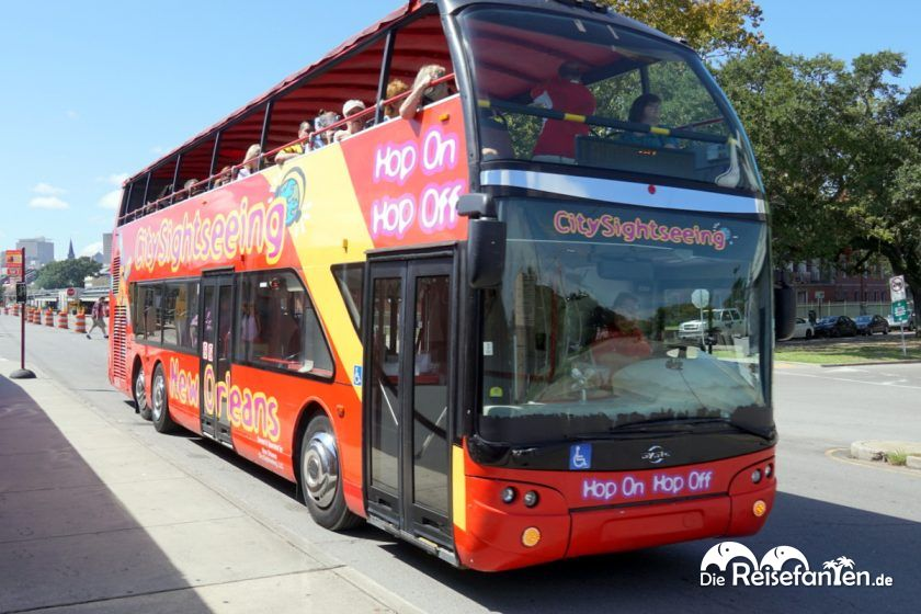 Der City Sightseeing New Orleans Bus