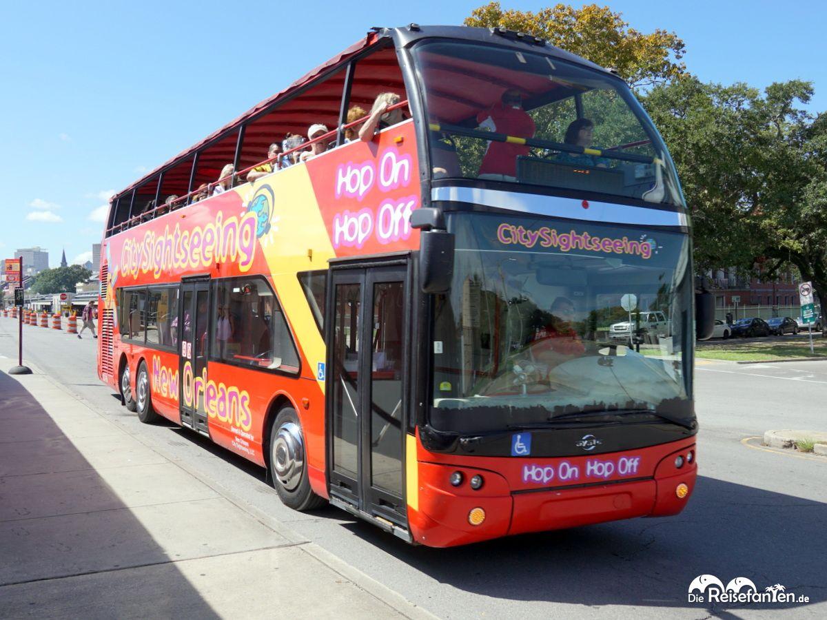 Der City Sightseeing New Orleans Bus