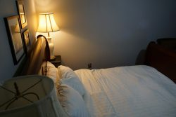 Doppelzimmer Nr 4 im Balcony Guest House in New Orleans
