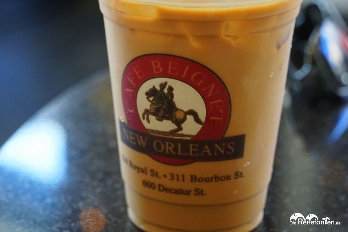 Eiskaffee im Café Beignet Royal in New Orleans