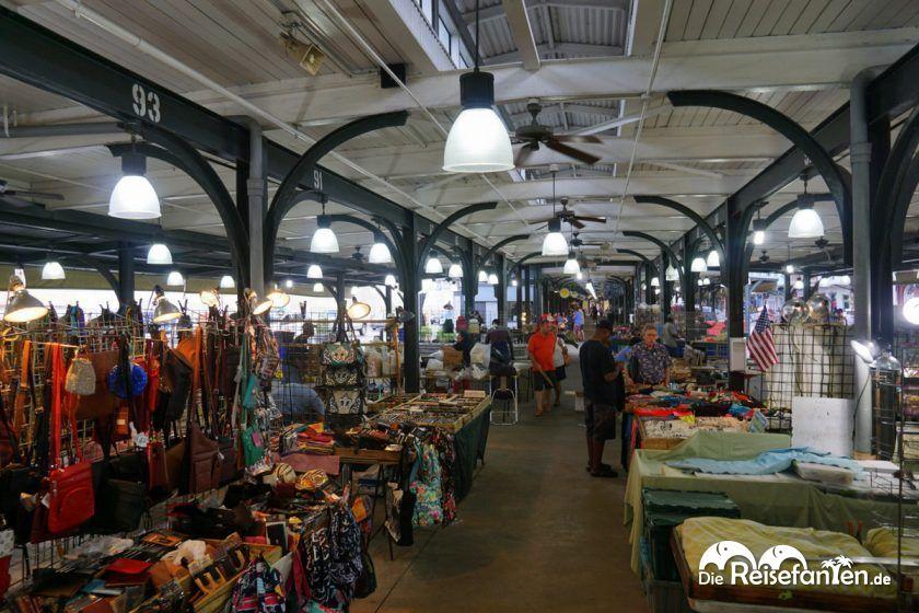 Innenbereich vom French Market in New Orleans