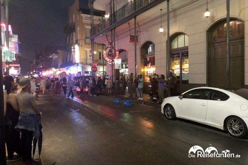 Straßenmusiker auf der Bourbon Street