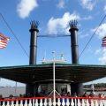 Vorderansicht des Steamboat Natchez in New Orleans