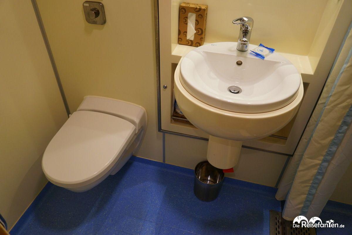 Badezimmer auf der Carnival Elation