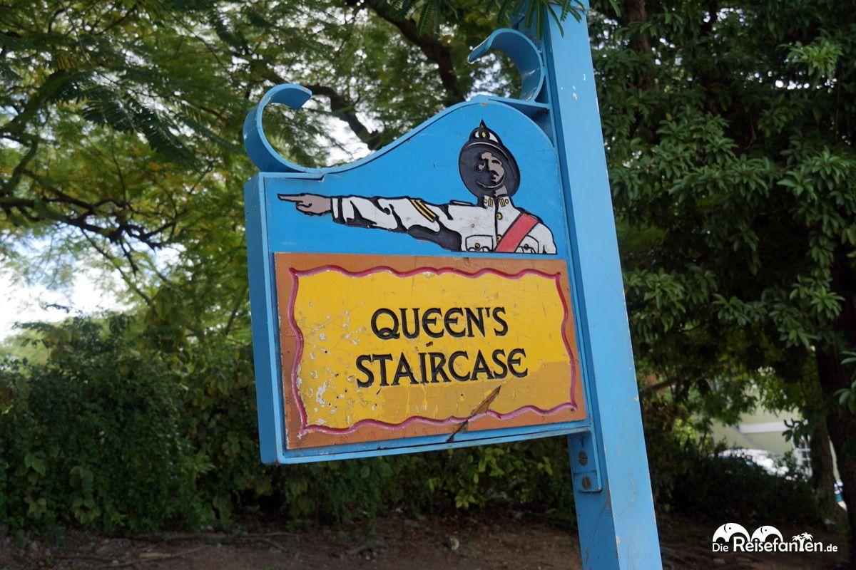 Die Queen's Staircase in Nassau