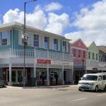 Einkaufsstraße in Nassau
