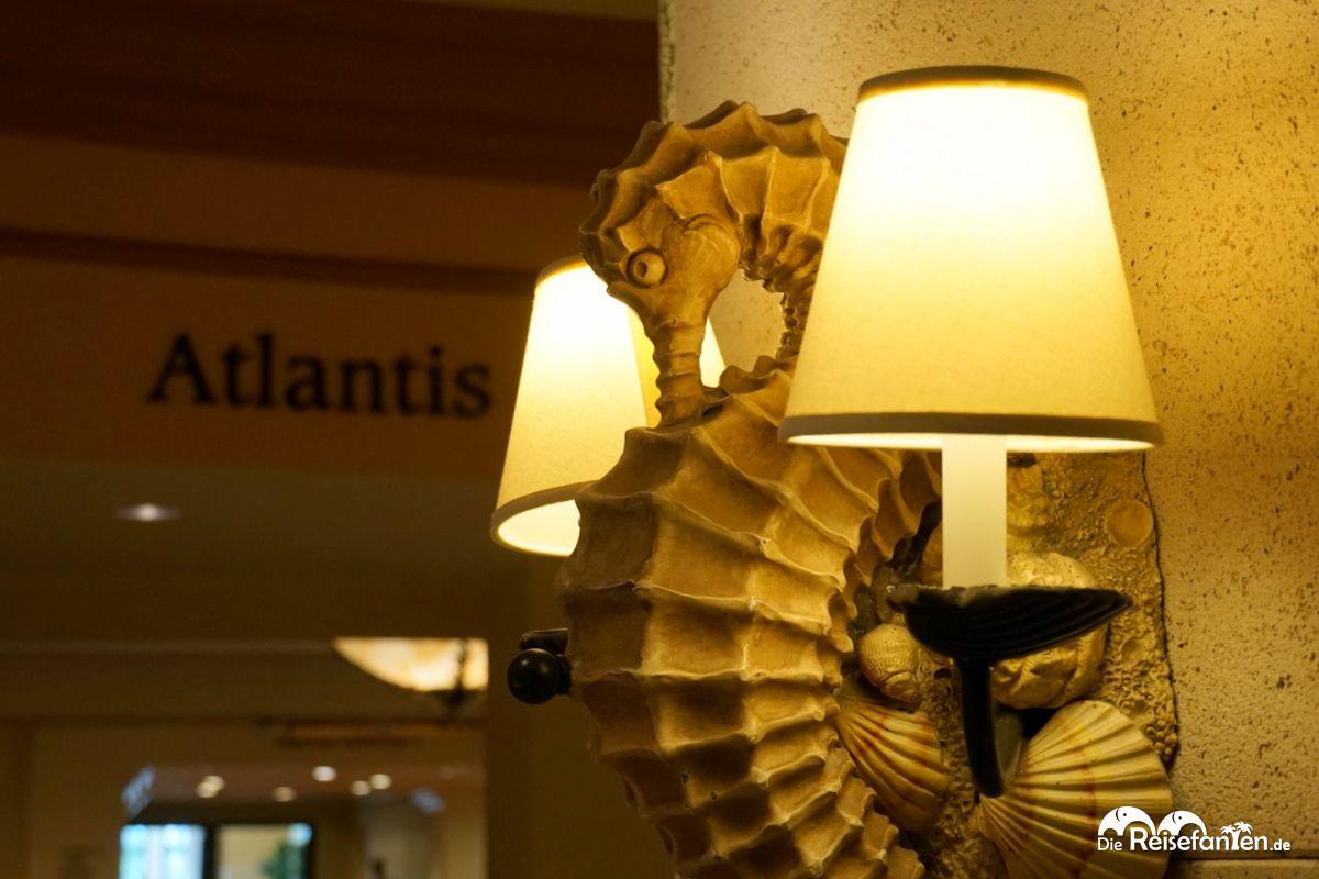 Im Atlantis Hotel in Nassau