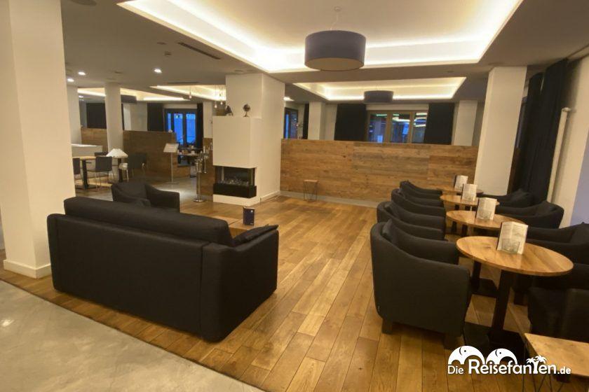 Lobby im Vi Vadi Hotel Bayer 89 in München