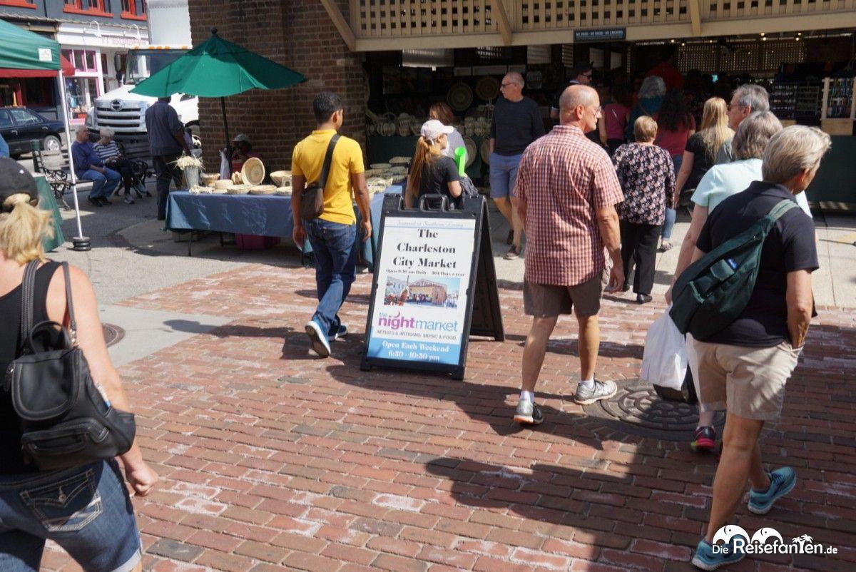 Auf dem Charleston City Market