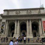 Aussenansicht der New York Public Library