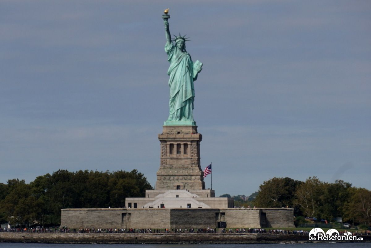 Die Freiheitsstatue in New York
